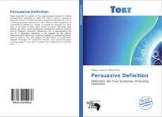 Bookcover of Persuasive Definition