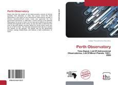Capa do livro de Perth Observatory