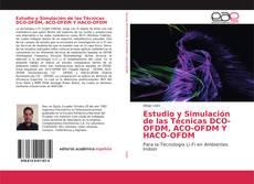 Capa do livro de Estudio y Simulación de las Técnicas DCO-OFDM, ACO-OFDM Y HACO-OFDM