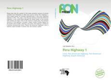 Portada del libro de Peru Highway 1