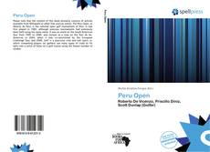 Peru Open的封面