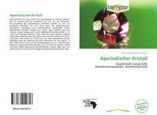 Bookcover of Aperiodischer Kristall
