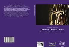 Portada del libro de Outline of Criminal Justice