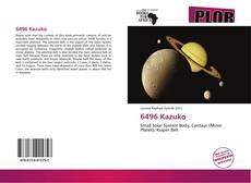 6496 Kazuko的封面