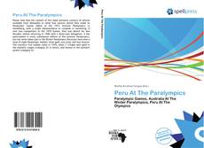 Copertina di Peru At The Paralympics