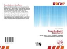 Portada del libro de Perumbadavam Sreedharan