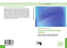 Capa do livro de Peruvian Football League System
