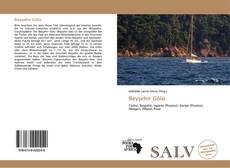 Beyşehir Gölü kitap kapağı