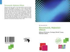 Bookcover of Pervomaisk, Mykolaiv Oblast