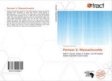 Bookcover of Pervear V. Massachusetts