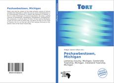Portada del libro de Peshawbestown, Michigan