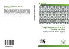 Buchcover von Virginia Foundation For The Humanities
