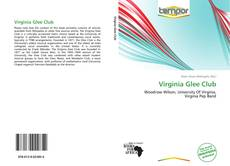 Portada del libro de Virginia Glee Club