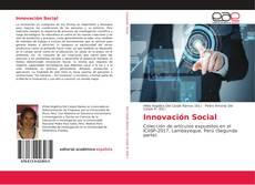 Portada del libro de Innovación Social