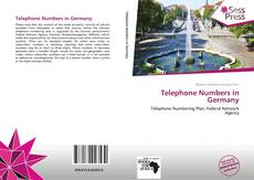 Buchcover von Telephone Numbers in Germany
