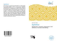 Bookcover of Apfelthal