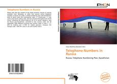 Buchcover von Telephone Numbers in Russia