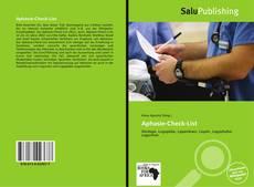 Aphasie-Check-List kitap kapağı