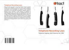 Bookcover of Telephone Recording Laws