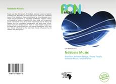 Bookcover of Ndebele Music