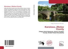 Portada del libro de Karolewo, Złotów County