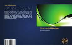 Senu Abdul Rahman kitap kapağı
