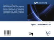 Buchcover von Sprott School of Business