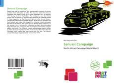 Bookcover of Senussi Campaign
