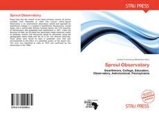 Sproul Observatory的封面
