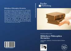 Portada del libro de Bibliotheca Philosophica Hermetica
