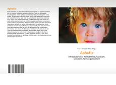 Bookcover of Aphakie