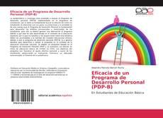 Portada del libro de Eficacia de un Programa de Desarrollo Personal (PDP-B)