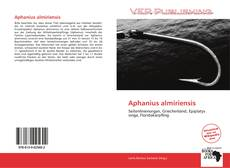 Bookcover of Aphanius almiriensis