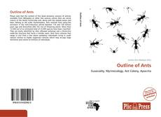 Couverture de Outline of Ants