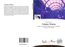 Couverture de Teleplay Modem