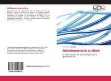 Adolescencia online kitap kapağı