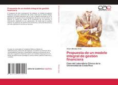 Buchcover von Propuesta de un modelo integral de gestión financiera
