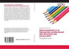 Обложка Acercamiento a la formación profesional del directivo de preescolar