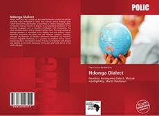 Bookcover of Ndonga Dialect