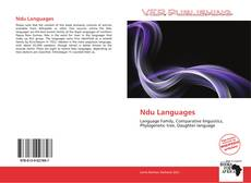 Bookcover of Ndu Languages