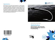 Bookcover of Aplocheilus