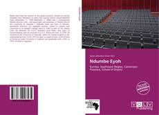 Bookcover of Ndumbe Eyoh
