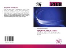 Bookcover of Spryfield, Nova Scotia