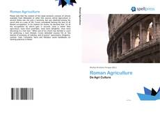 Bookcover of Roman Agriculture