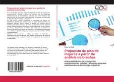 Bookcover of Propuesta de plan de mejoras a partir de análisis de brechas