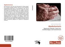 Bookcover of Apokatastasis