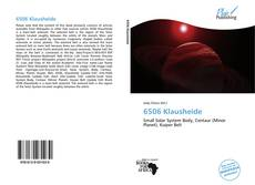 Bookcover of 6506 Klausheide