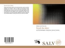 Bookcover of Pessah Bar-Adon