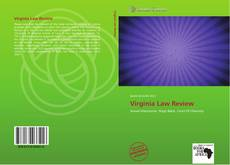 Bookcover of Virginia Law Review