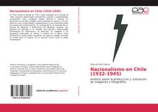 Portada del libro de Nacionalismo en Chile (1932-1945)
